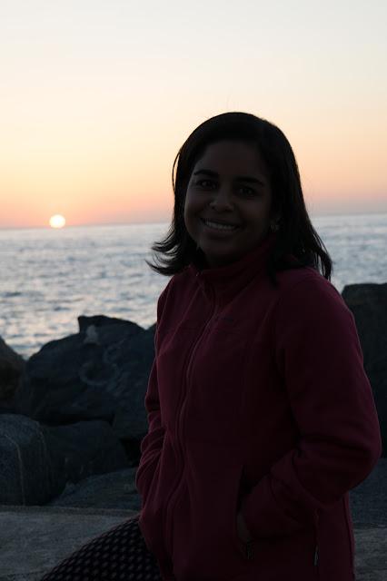 por do sol praia vina del mar chile