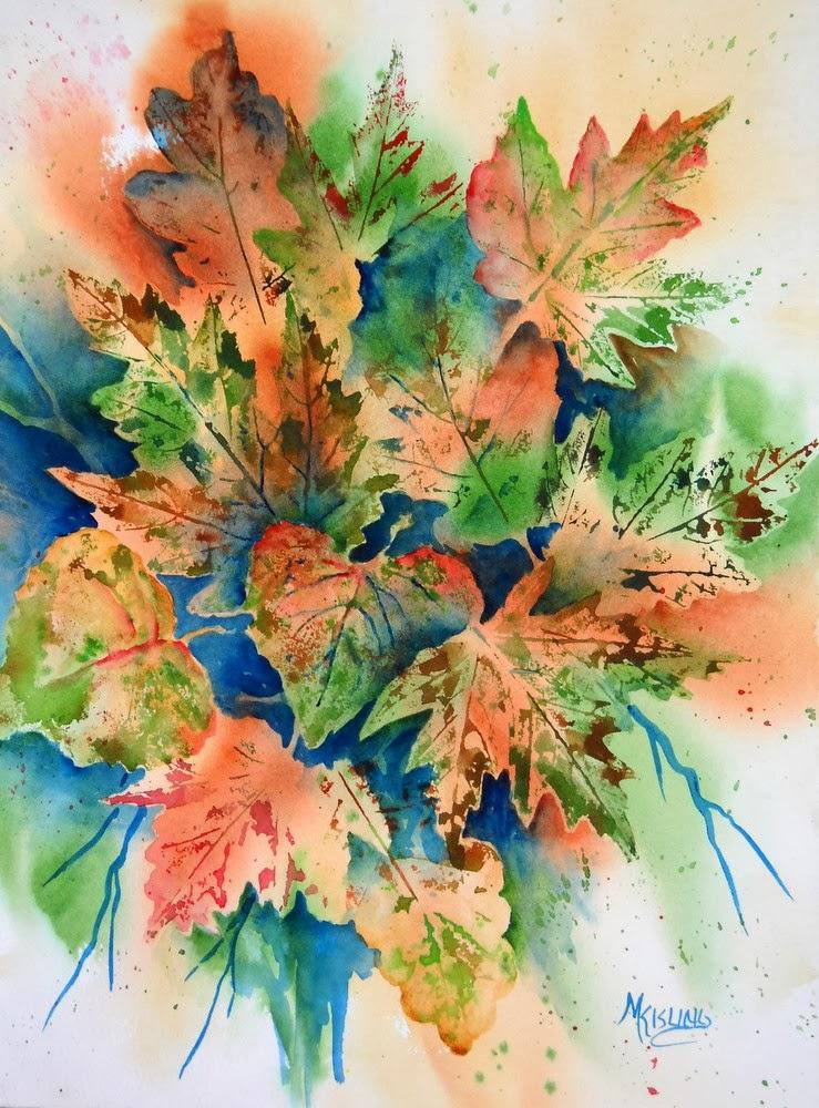 Martha Kisling Art With Heart : Autumn Leaves as ...
