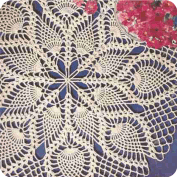"Centros de Mesa ""Las Espigas"" a Crochet"