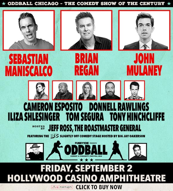 Oddball Comedy Tour Discount Tickets