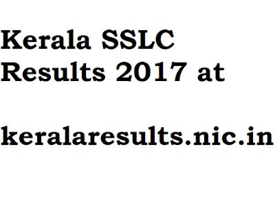 Kerala SSLC Results 2017 at keralaresults.nic.in