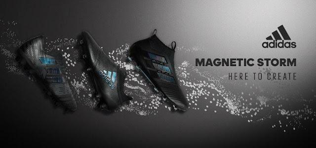 d54ea30577f PES 6 Adidas Magnetic Storm Boots 2017-18