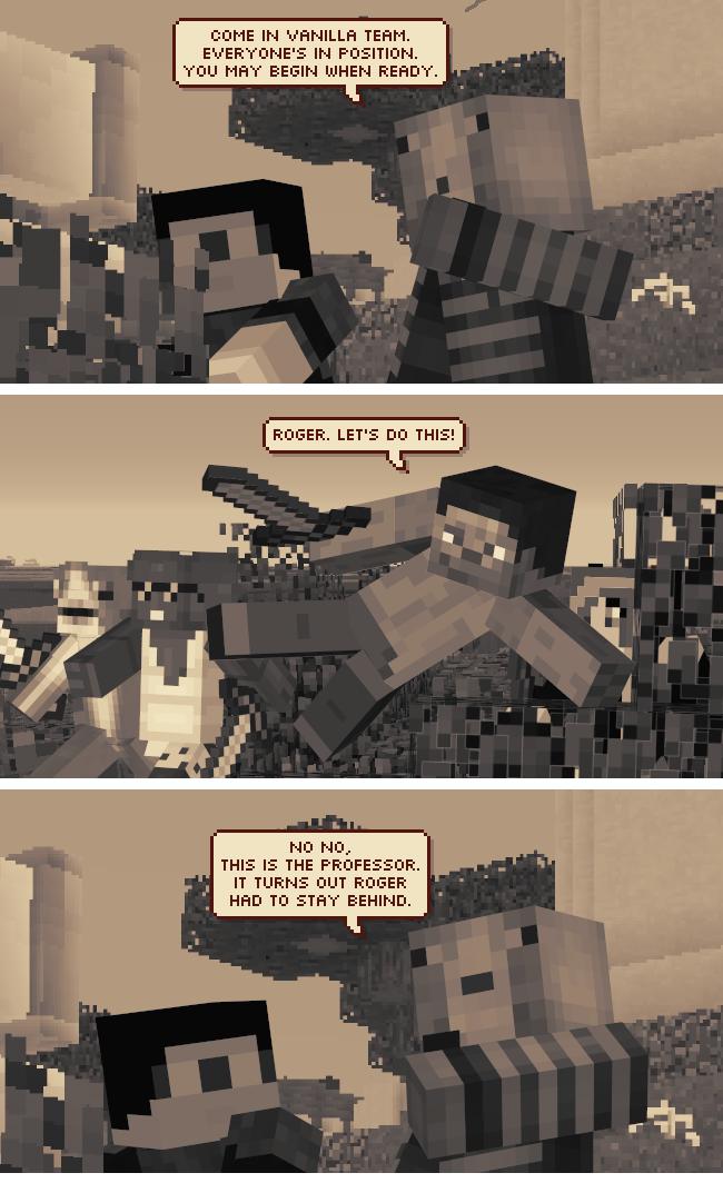 The Minecraft Web Comic Series