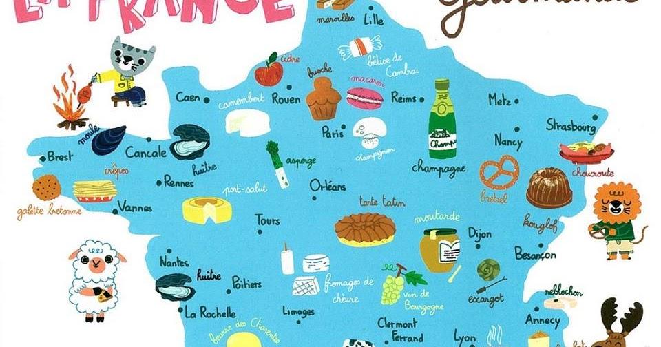 Franc s la france gourmande - France 3 cuisine gourmande ...