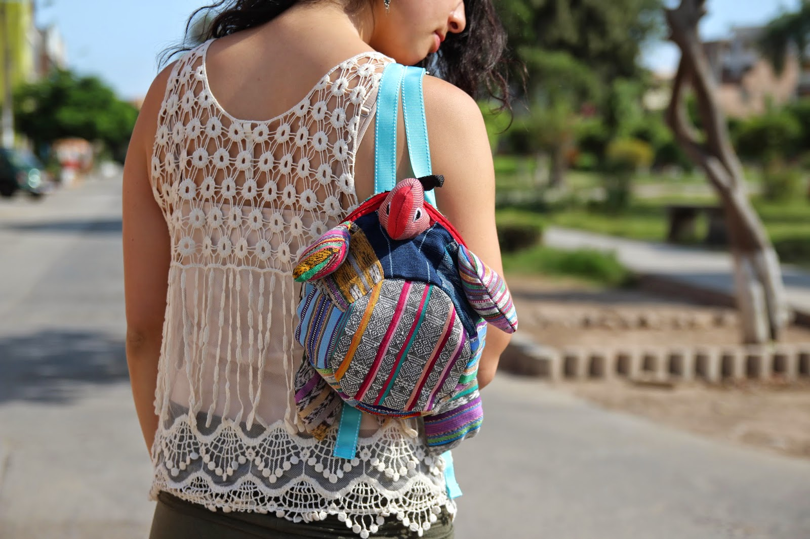 Trades of Hope Fair Trade backpack
