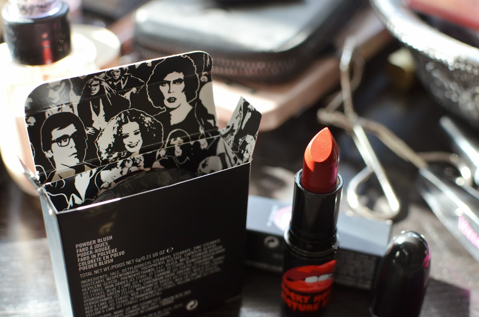 Frank-n-Furter lipstick from MAC Rocky Horror collection
