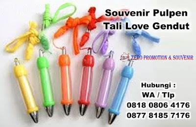 Pulpen love bentuk gendut dengan tali, Pulpen Tali Love dilengkapi dengan Sticker Full Colour, Jual Pulpen Tali Love, Pen Plastik Insert Stiker, Pen Promosi Tali Love, Pulpen promosi Tali Love termurah