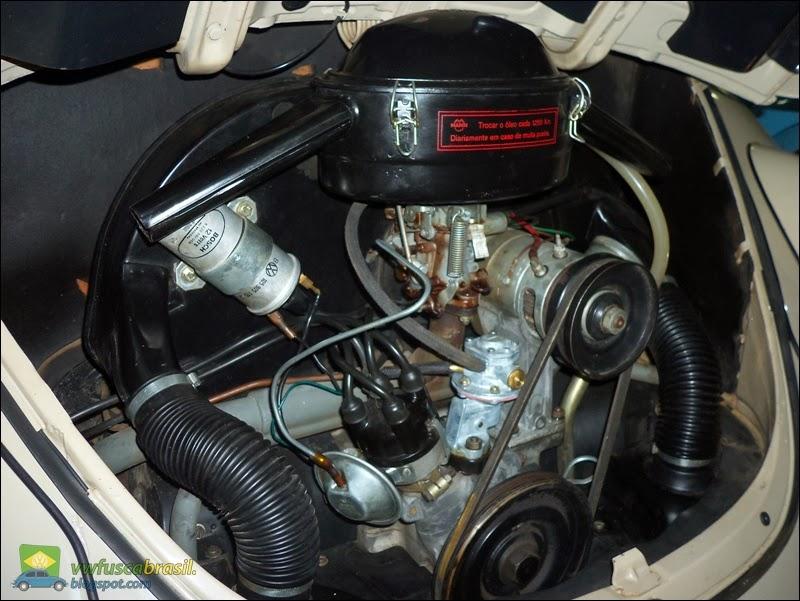 Vw Fusca Brasil Carbura 231 227 O Simples X Dupla