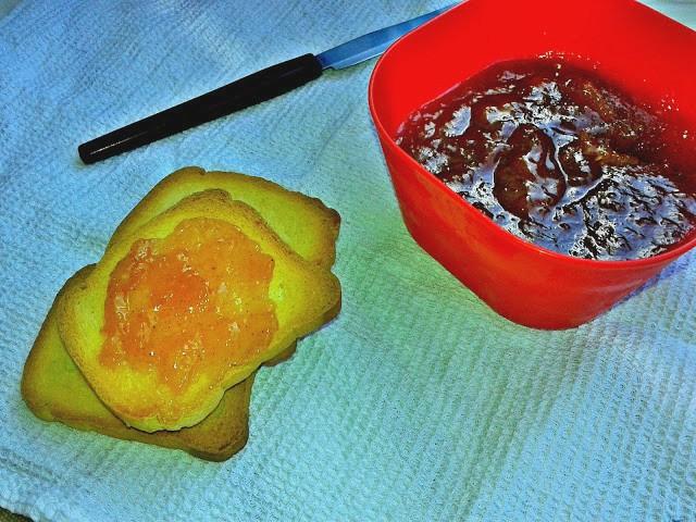 рецепт густого персикового варення джему