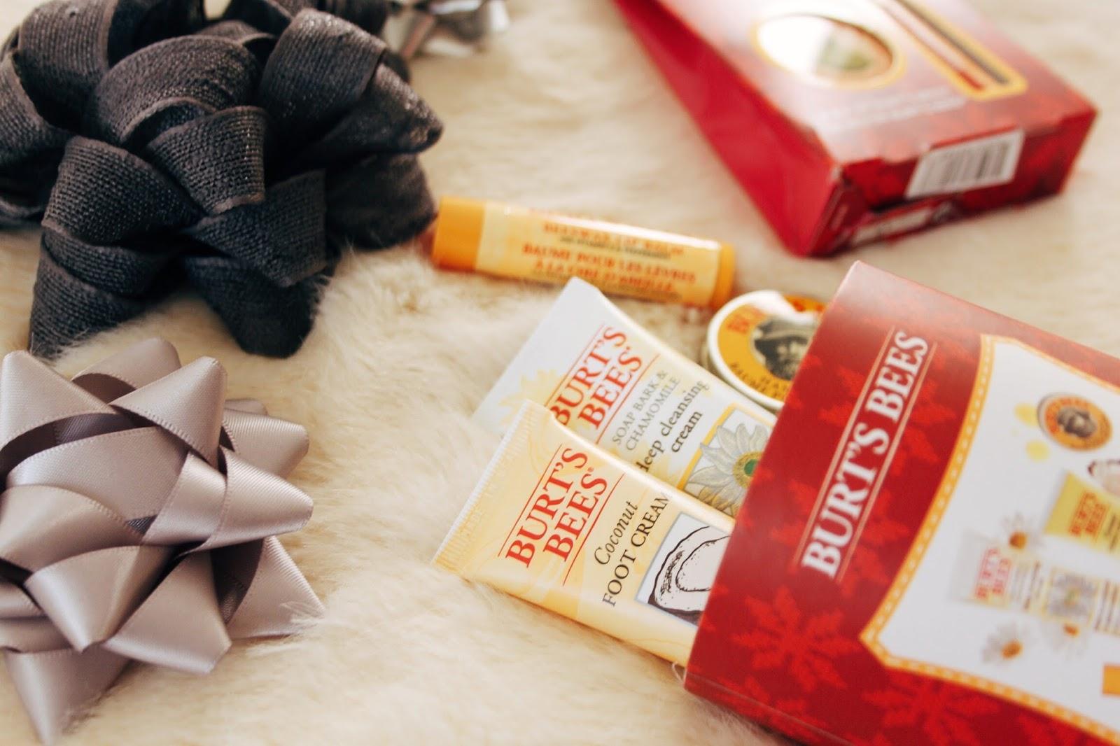 burts bees christmas gifts