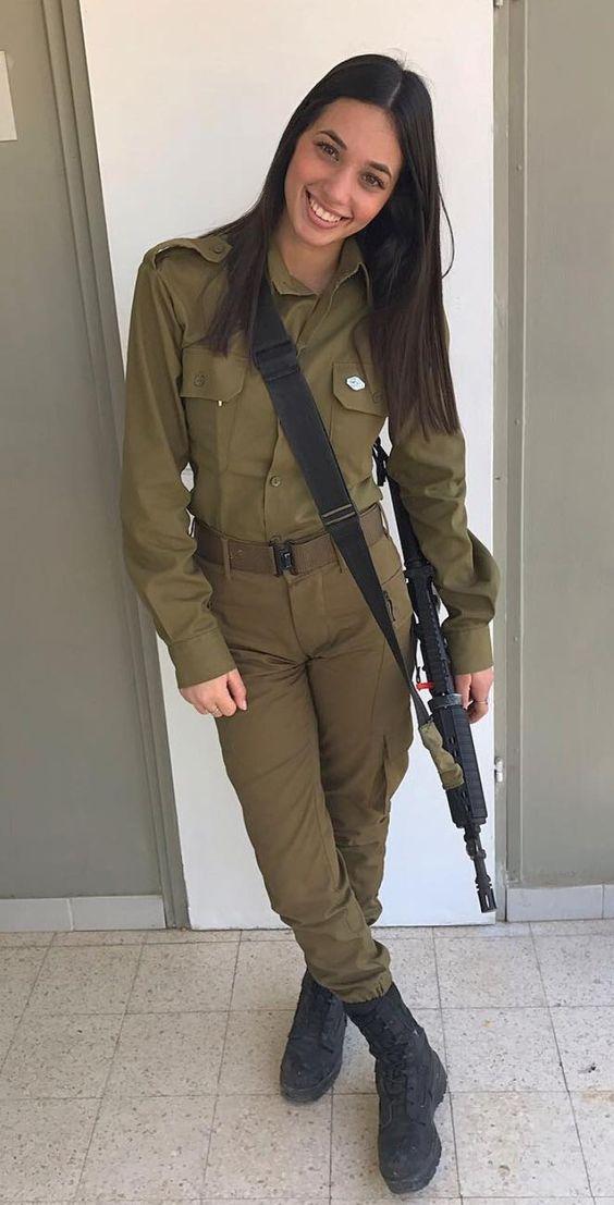 Amazing Wtf Facts Beautiful Women In Israel Defense Forces - Idf Army Girls - Israel -2403