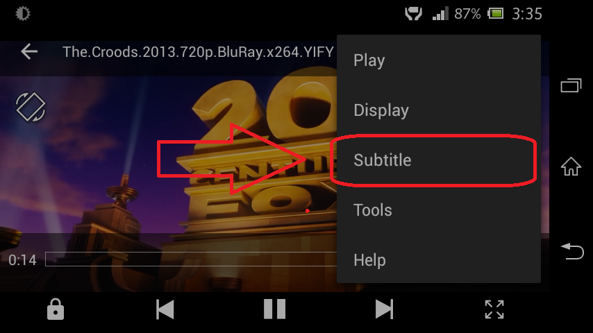 TUTORIAL] How to play sinhala subtities in MX Player