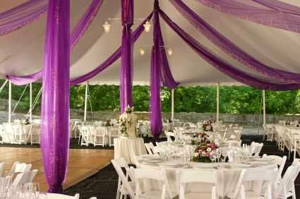 Example of Backyard Wedding Decoration