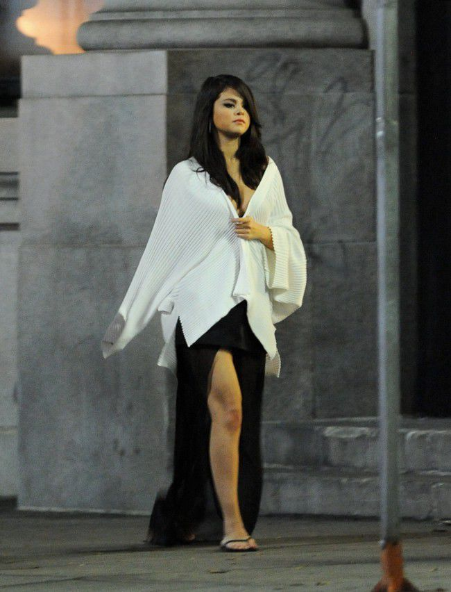Selena Gomez is at night of the City of the Angels that the star turned several stages