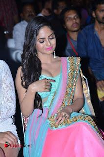 Actress Naina Ganguly Stills in Long Dress at Vangaveeti Audio Launch  0098.JPG