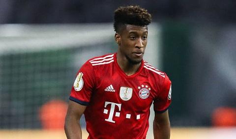 Kingsley Coman trong màu áo Bayern