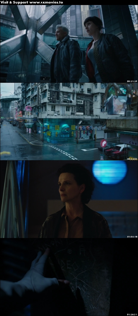 Ghost In The Shell 2017 English 720p WEB-DL 850MB
