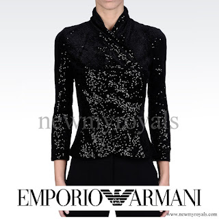 Princess Marie wore Emporio Armani Double Breasted Jacket