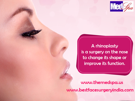 Rhinoplasty Nose Surgery in Delhi