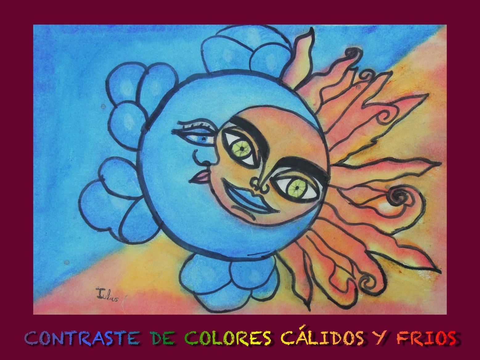 Mesa Y Lapiz: Colores Cálidos Y Frios. 1º De ESO