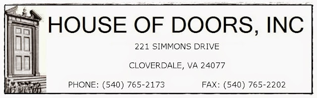 House of Doors - Roanoke, VA Sales, Service (Repair) and Installation of Commercial Doors, Frames and Hardware.