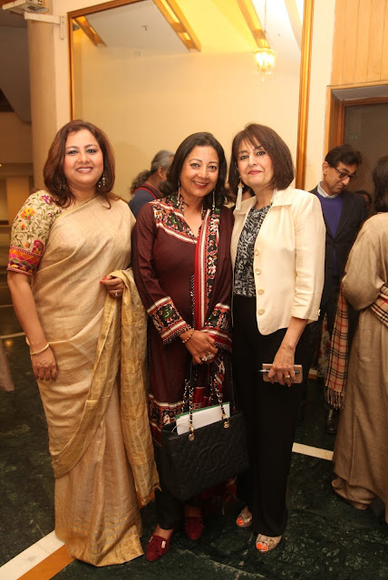 Former National Secretary BJP Ms. Vani Tripathi Tikoo, Social Activist Neelam Pratap Rudy and Bubbles Sabharwal