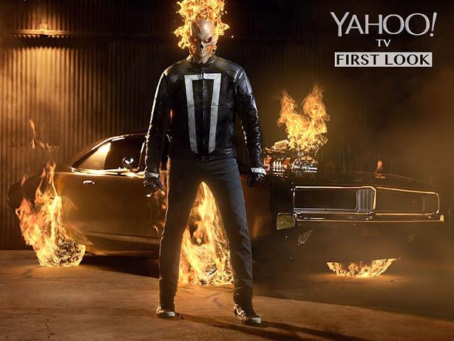 Primera imagen oficial de Ghost Rider en 'Agentes de S.H.I.E.L.D.'