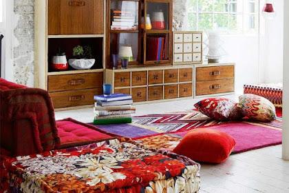 5 Desain Ruang Keluarga Minimalis ala Lesehan yang Super Nyaman