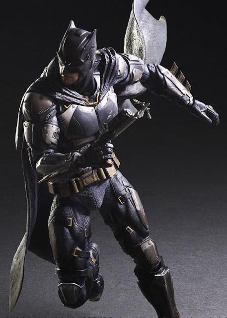osw.zone Square Enix Play Arts Kai 1 / 7th Scale Justice League - Batman Tactical Suit Action Figure