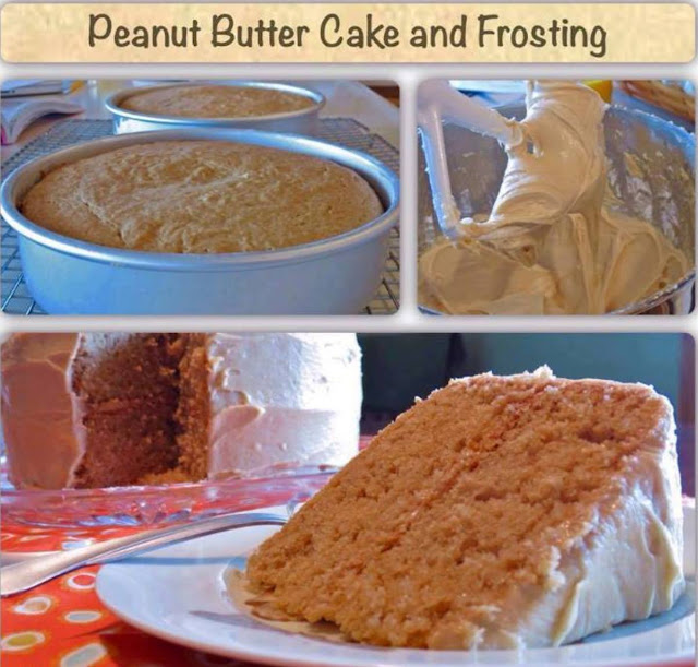 Peanut Butter Cake and Frosting