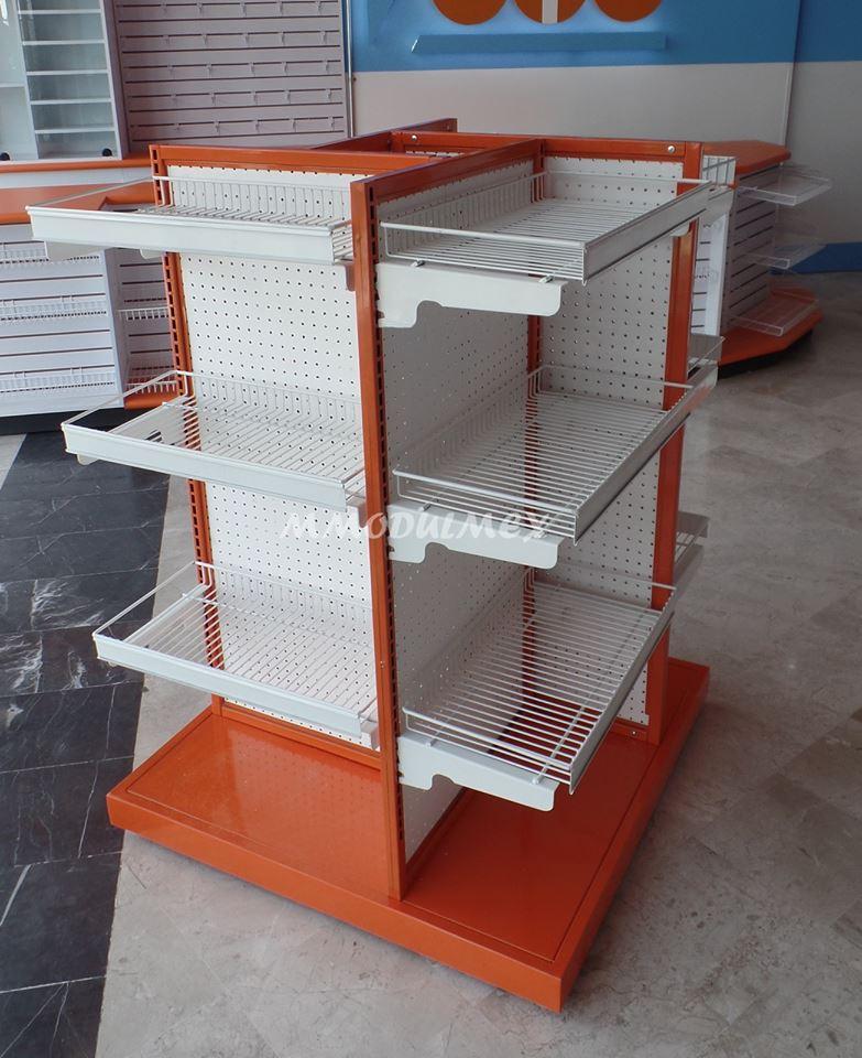 Mostradores vitrinas estantes estanter a anaqueles para tiendas papeler as y farmacia - Mostradores para negocio ...