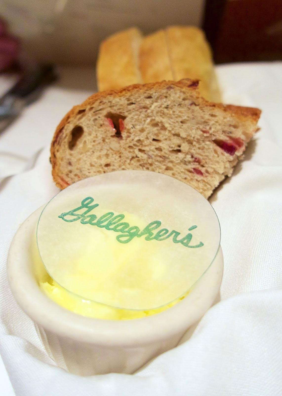 Gallagher's Las Vegas - bread basket