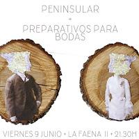 Concierto de Preparativos para bodas y Peninsular en La Faena II