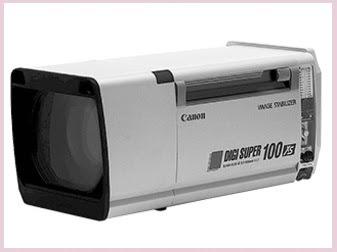 Canon Digisuper 100 XS lens broadcasting