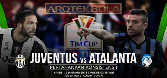Prediksi Pertandingan Juventus vs Atalanta 12 Januari 2017