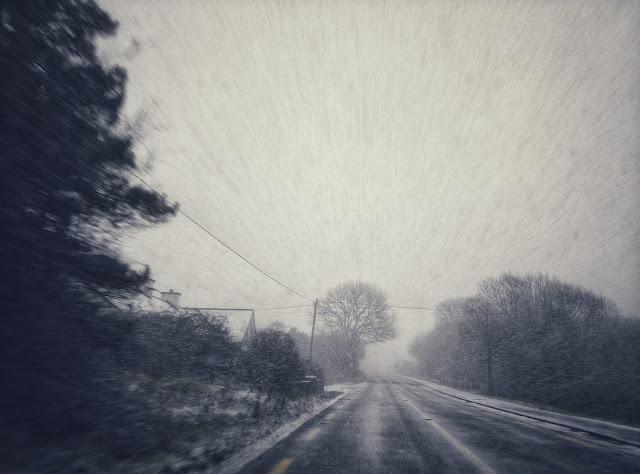 snowy landscape, Ireland