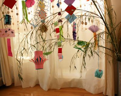 七夕飾り折り紙