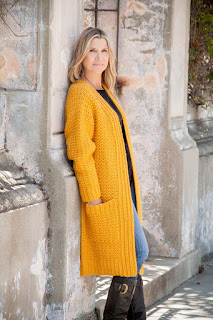 Golden Grove Cardi Crochet Pattern