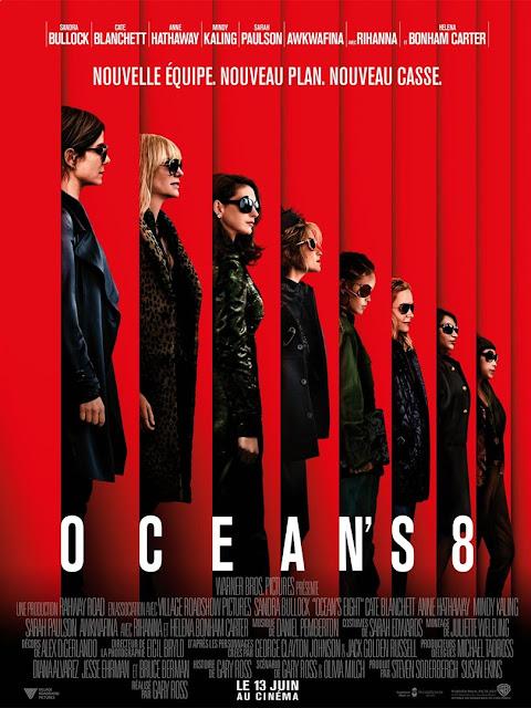 Film Ocean's 8 L'Agenda Mensuel - Juin 2018