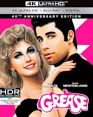 Grease – Nos Tempos da Brilhantina 1978 - BluRay 4k Remux 2160p Trial Áudio (Dublado)