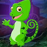 G4K Baby Chameleon Escape
