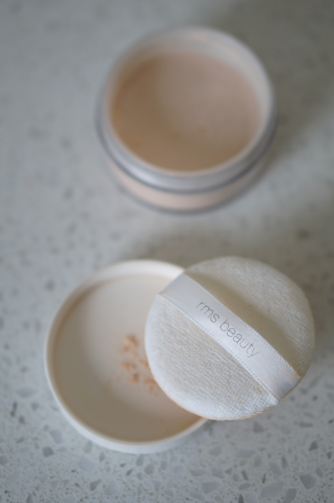 RMS UN POWDER by popular North Carolina beauty blogger Rebecca Lately