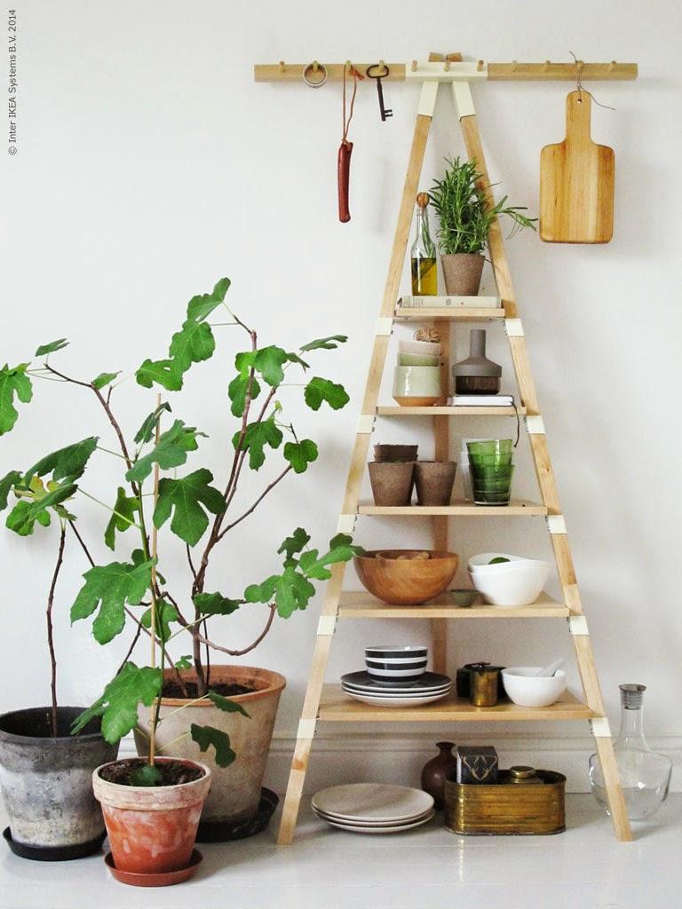 decoraci n f cil estanteria ps 2014 de ikea ideal para la cocina. Black Bedroom Furniture Sets. Home Design Ideas