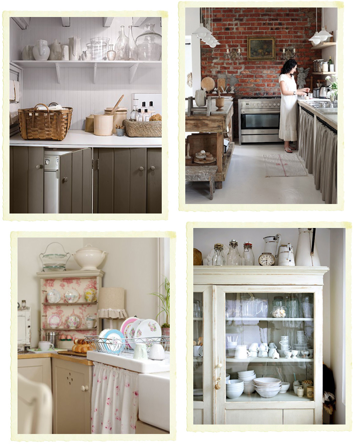 Cucina componibile vs cucina in muratura - Shabby Chic Interiors