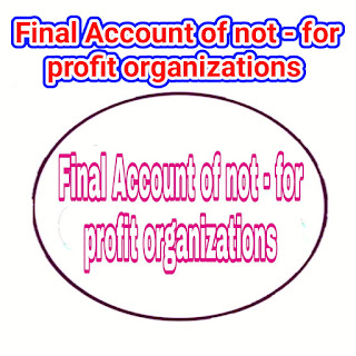 not - for  profit organizations