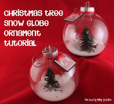 How to Make a Snow Globe Ornament