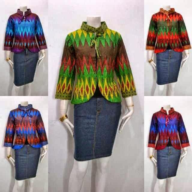 Baju Bolero Batik Wanita Model terbaru