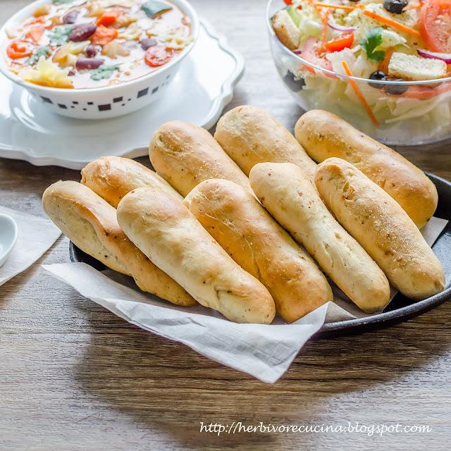 Herbivore Cucina Homemade Olive Garden Garlic Breadsticks