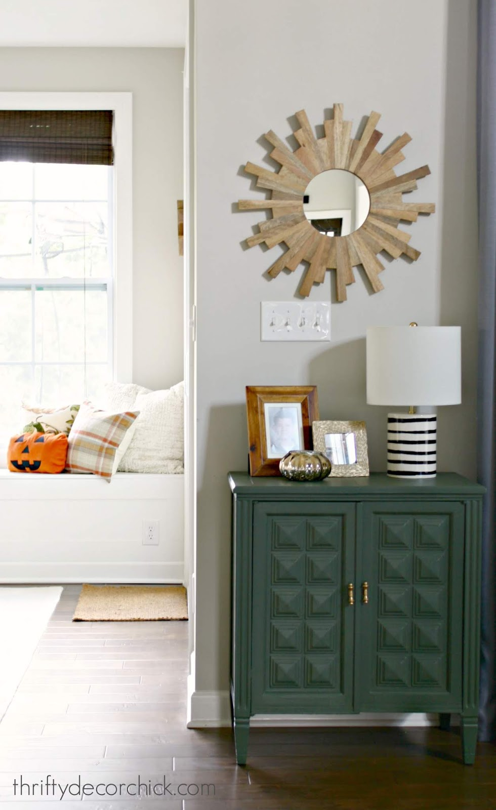 The perfect olive green paint color