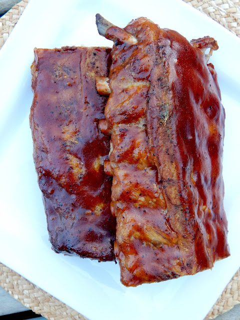 oven baked barbecue ribs (sweetandsavoryfood.com)